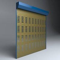 garage door electric 3D model