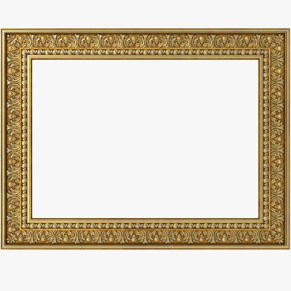 3D frame picture model
