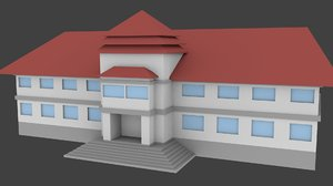 town hall 3D