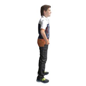 3D cool standing