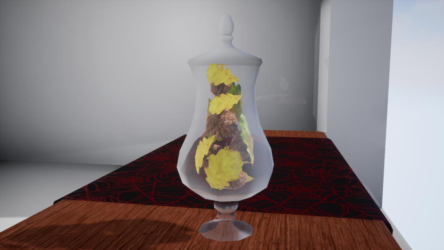 furniture october decorative vase 3D model