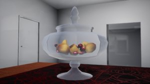 3D furniture october decorative vase
