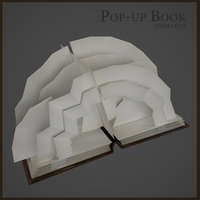 book flipping pages model