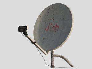 dish antenna model