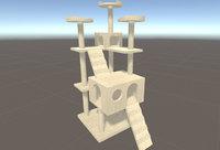 3D Cat's Tree