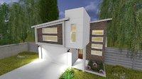 design house 3D model