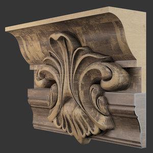 decor materials 3D model