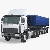 Dump Semi Truck