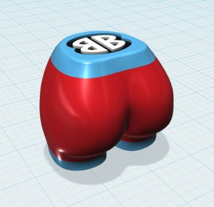 bootie music shakers single 3D model