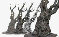 scanned tree trunk 16k model