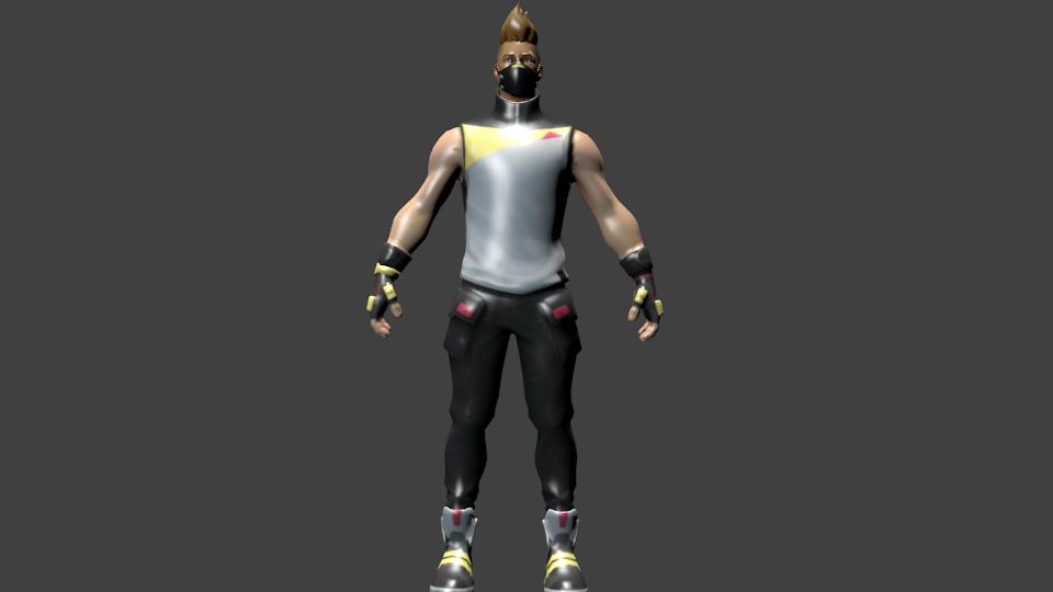 3D skin drift tier fortnite