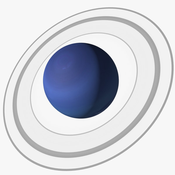 3D model neptune planet