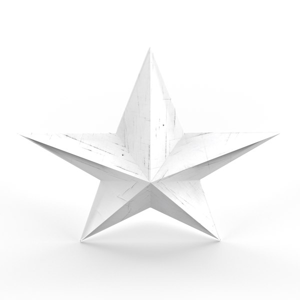 star christmas 3D model