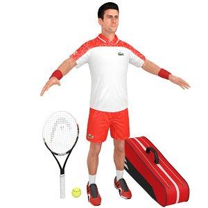 novak djokovic racket model