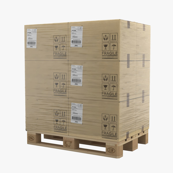 pallet boxes model