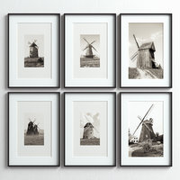 picture frames set 3D model