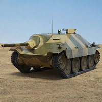 3D panzer 38