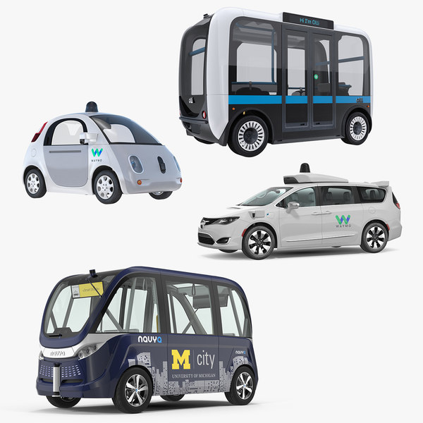 3D self driving cars 2