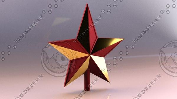 3D decorative christmas model