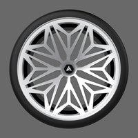 snowflake unique wheel