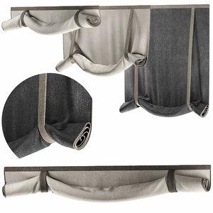 3D curtains 41 blinds