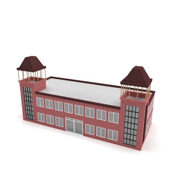 museum polys 3D model
