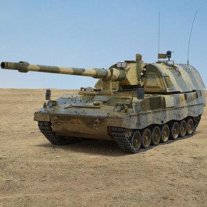 panzerhaubitze 2000 model