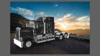 semi trucks 3ds