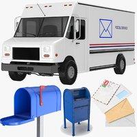 3D truck box mail