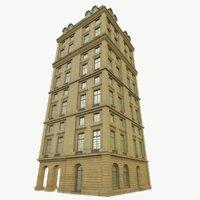 classical building 3D model
