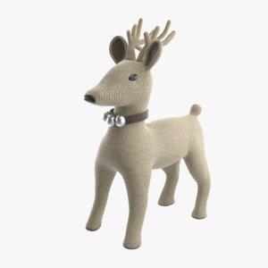 christmas deer 3D