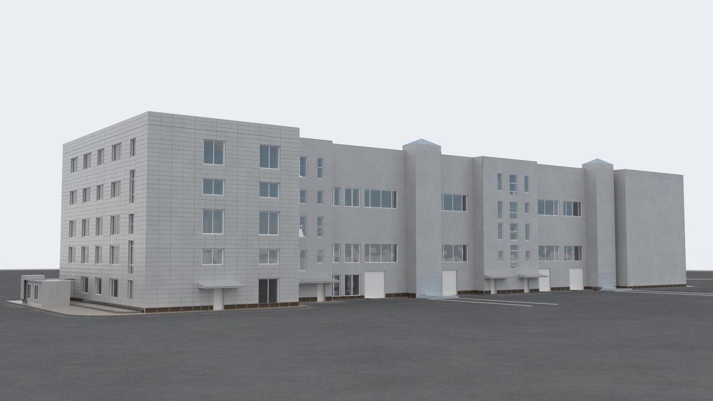 building office v4 3D model