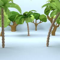 3D trees pack
