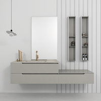Bathroom furniture set Gold 2