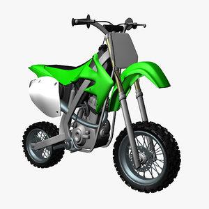 3D model motocross bike