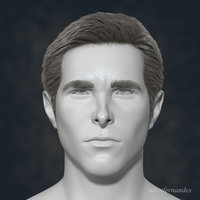 3D model hollywood actor