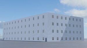 3D building office v10