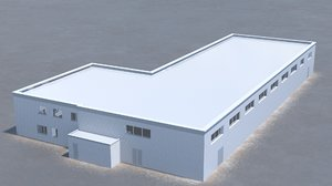 building office v9 3D model