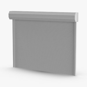 storefront-rolling-gate---gate-02-clean 3D model