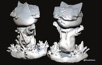 3D tuna printable model