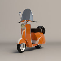 vespa scooter ar model