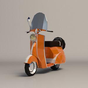 vespa scooter ar model