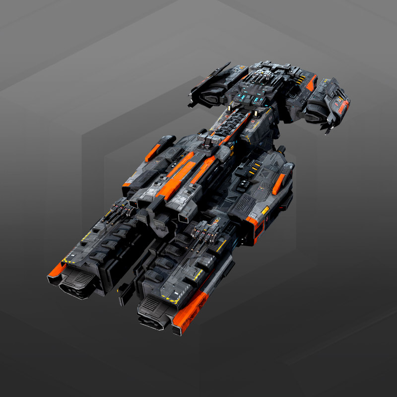 destroyer federation 3D model