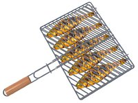 3D barbecue fish grill