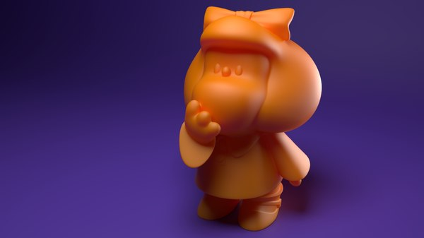 3D mafalda print