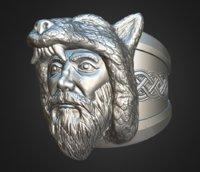 3D ring celtic