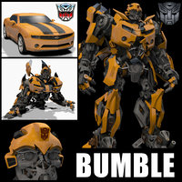 Bumblebee Forever (3d animated model)