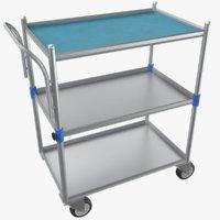 3D medical cart