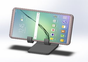elephant smartphones holder 3D model