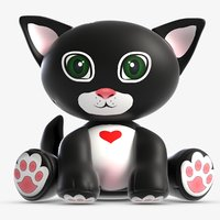 toy kit cat 3D model